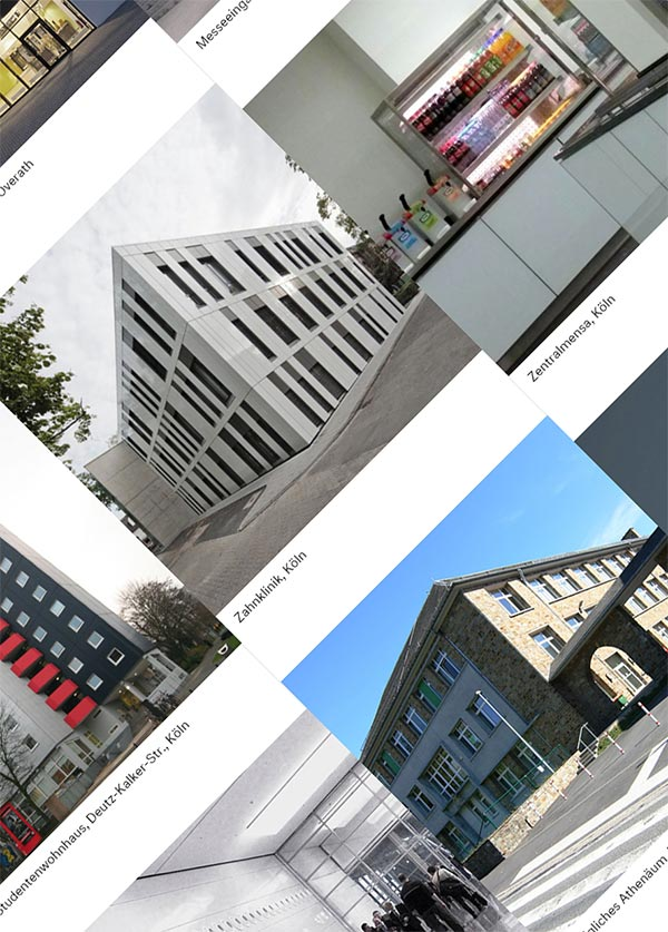 SIC! Architekten Website, Redesign